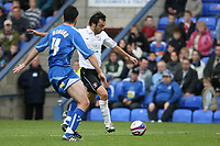 Photo: Pete Lorence.<br />Peterborough United v Hereford United. Coca Cola League 2. 27/10/2007.<br />Clint Easton scores the equalising goal.