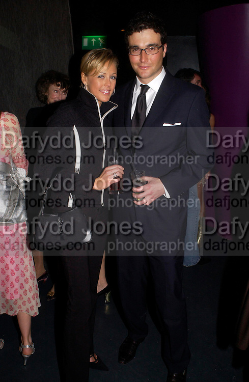 David Peacock and Lady Alexandra Spencer-Churchill. party given by Daphne Guinness for Christian Louboutin  after the opening of his new shopt.  Baglione Hotel. 16 March 2004.  ONE TIME USE ONLY - DO NOT ARCHIVE  © Copyright Photograph by Dafydd Jones 66 Stockwell Park Rd. London SW9 0DA Tel 020 7733 0108 www.dafjones.com