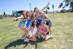 Fans in the arena on Saturday 30th June at TRNSMT 2018.