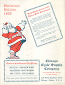 1938 Chicago Cycle Supply Christmas Bulletin