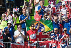 British supporters<br /> Olympic Games Rio 2016<br /> © Hippo Foto - Dirk Caremans<br /> 15/08/16