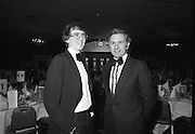 1980-02-29.29th February 1980.29/02/1980.02-29-80..Photographed at Burlington Hotel, Dublin..Sporting Prowess:..Ireland's Top Ten sporting figures from 1979 are acknowledged at the Texaco Sportstars of the Year Awards. .Left of Picture:..John Treacey, recipient of the Athletics Award.