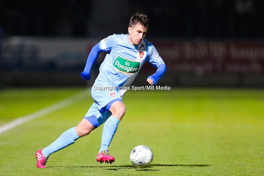 Stephane TRITZ  - 26.01.2015 - Angers / Brest - 21eme journee de Ligue 2 -<br /> Photo : Vincent Michel / Icon Sport