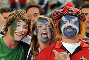 Lions Supporter.<br /> Rugby - 090610 - British&Irish Lions v Sharks - ABSA Stadium - Durban - South Africa. The Lions won 37 -3.<br /> Photographer : Anton de Villiers / SASPA