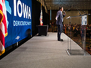 09 JUNE 2019 - CEDAR RAPIDS, IOWA: Democratic businessman ANDREW YANG speaks at the Iowa Democrats 2019 Hall of Fame Celebration in the Cedar Rapids Convention Center. Nineteen of the Democratic candidates for president in 2020 spoke at the annual event. Iowa traditionally hosts the the first election event of the presidential election cycle. The Iowa Caucuses will be on Feb. 3, 2020.                          PHOTO BY JACK KURTZ