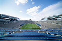 SOUTH BEND, INDIANA, USA - Friday, July 19, 2019: A general view of the Notre Dame Stadium before a friendly match between Liverpool FC and Borussia Dortmund on day four of the club's pre-season tour of America. (Pic by David Rawcliffe/Propaganda)