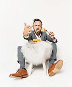 Aaron Paul eating Twinkies