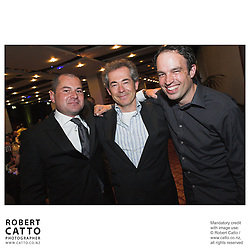 Toa Fraser;Tim White;Robert Sarkies at the Spada Conference 06 at the Hyatt Regency Hotel, Auckland, New Zealand.<br />
