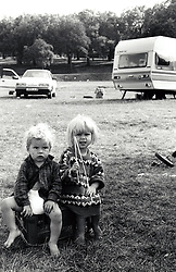 Traveller children UK 1980s
