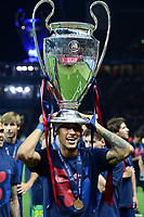 Celebration Neymar <br /> Berlino 06-06-2015 OlympiaStadion  <br /> Juventus Barcelona - Juventus Barcellona <br /> Finale Final Champions League 2014/2015 <br /> Foto Matteo Gribaudi/Image Sport/Insidefoto
