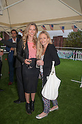 OLIVIA HUNT;  ASTRID HARBORD Charlie Gilkes and Duncan Stirling host Inception Group's Hamptons Garden party on the rooftop garden of the Ballymore marketing suite overlooking the site of the new US embassy. Embassy Gardens, London SW8.  12 July 2012.