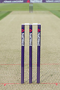 Natwest t20 Stumps ahead of the NatWest T20 Blast South Group match between Hampshire County Cricket Club and Sussex County Cricket Club at The Ageas Bowl, Southampton, United Kingdom on 19 June 2015. Photo by David Vokes.