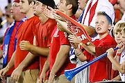 July 18 2009: USA fans in the crown during the game between USA and Panama. The United States defeated Panama 2-1 in added extra time in a CONCACAF Gold Cup quarter-final match at Lincoln Financial Field in Philadelphia, Pennsylvania.