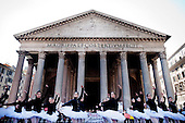 National Dance Academy students flash mob