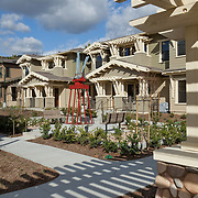 Rodriguez Associates Architects, San Diego, California, Sun Country Builders, Carlsbad, California, Craftsman Design, Brighton Place Apartments, Poway, Low-income Housing, residential architecture, residential design, Public Art