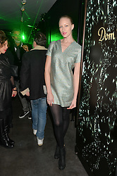 JADE PARFITT at a reception to celebrate Dom Perignon and Iris van Herpen's collaboration 'Metamorphosis' held at the Hus Gallery, 10 Hanover Street, London on 27th October 2014.