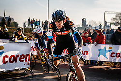 WYMAN Helen (GBR) during Women Elite race, UCI Cyclo-cross World Cup #8 at Hoogerheide, Noord-Brabant, The Netherlands, 22 January 2017. Photo by Pim Nijland / PelotonPhotos.com | All photos usage must carry mandatory copyright credit (Peloton Photos | Pim Nijland)