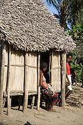 Madagascar, Anosy region Fishing village