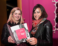 Elaine Guinan, Rumours and Laura Vaughan Oranmore in the g hotel for the launch of Galway Design Week, a week of design-led events celebrating the best of Galway design, which will be held all over the City from the 10th to the 17th of November. Photo:Andrew Downes