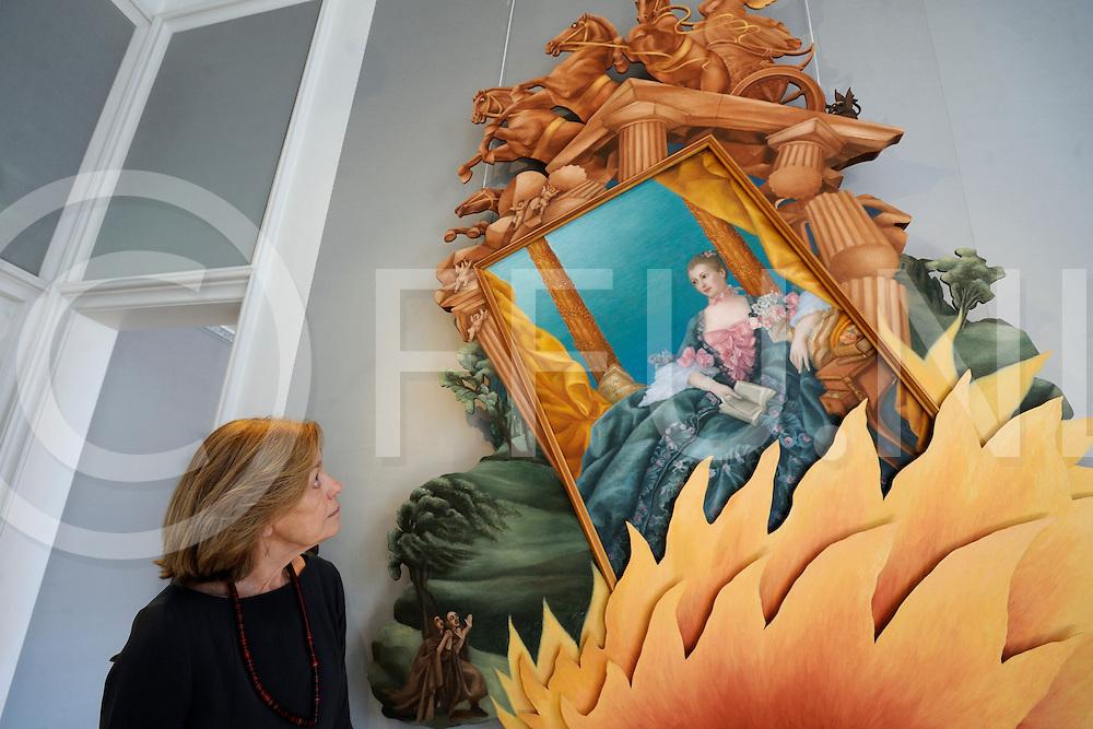 HEINO - tentoonstelling 'Hieron Pessers - Dolce Vita' .Liesbeth Brand Corstius.FFU PRESS AGENCY COPYRIGHT FRANK UIJLENBROEK.
