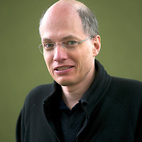 Alain de Botton at Edinburgh International Book Festival 2014 <br />