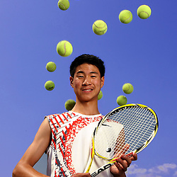 Pasadena Star-News Tennis Player of the Year Arroyo High School's Sammy Ho at Arroyo High School on Thursday, June 18, 2009 in El Monte,Calif. (Pasadena Star-News/Keith Birmingham)