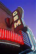 Image of the historic Gem Theatre in Kansas City, Missouri, American Midwest