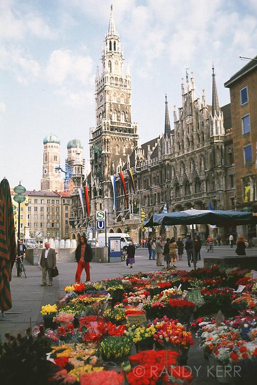 Munich Glockenspiel in Munich