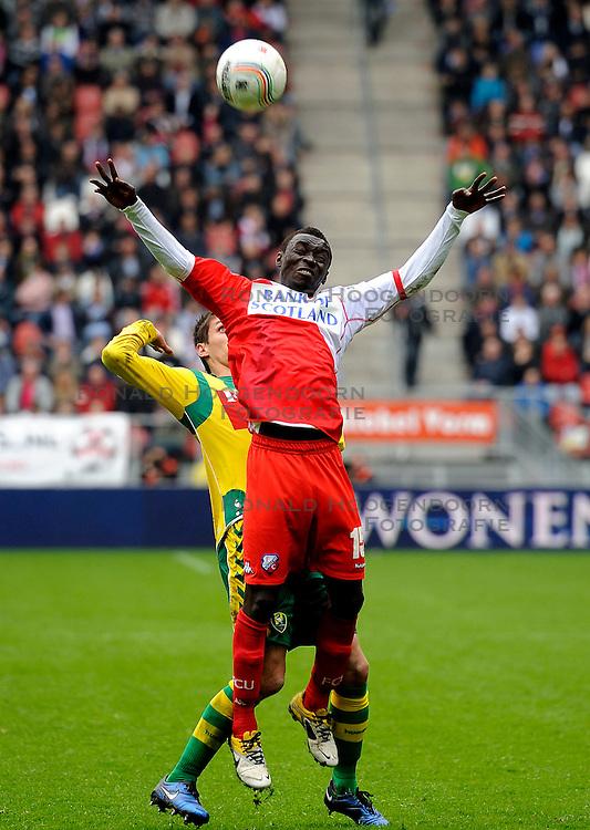 03-04-2011 VOETBAL: FC UTRECHT - ADO DEN HAAG: UTERCHT<br /> Nana Asare<br /> &copy; Ronald Hoogendoorn Photography