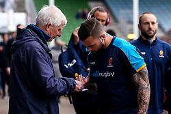 Francois Hougaard of Worcester Warriors arrives at Harlequins - Mandatory by-line: Robbie Stephenson/JMP - 16/02/2019 - RUGBY - Twickenham Stoop - London, England - Harlequins v Worcester Warriors - Gallagher Premiership Rugby