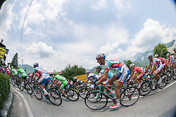 Patrick Facchini (ITA) of Androni-Ciocattoli during Stage 3 from Skofja Loka to Vrsic (170 km) of cycling race 20th Tour de Slovenie 2013,  on June 15, 2013 in Slovenia. (Photo By Vid Ponikvar / Sportida)