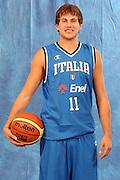 DESCRIZIONE : Milano Media Day Nazionale Italiana Uomini<br /> GIOCATORE : stefano mancinelli<br /> SQUADRA : Nazionale Italiana Uomini Italia<br /> EVENTO : Milano Media Day Nazionale Italiana Uomini<br /> GARA : <br /> DATA : 18/07/2007 <br /> CATEGORIA : Ritratto Posato<br /> SPORT : Pallacanestro <br /> AUTORE : Agenzia Ciamillo-Castoria/M.Marchi
