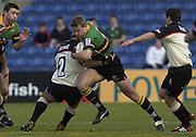02/03/2003.Sport - 2003 Powergen Cup Semi- final - London Irish v Northampton Saints.Nick Beal.