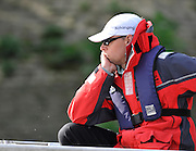 Putney, GREAT BRITAIN,  Tuesday Morning,  Cambridge Chief coach Steve TRAPMORE during  the Training Outing.  Tideway week ,on the championship course. Putney/Mortlake, Tuesday   03/04/2012 [Mandatory Credit, Peter Spurrier/Intersport-images]
