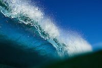 Water shot of a breaking wave in at Salt Creek in Orange County, California. Photo by Robert Zaleski/rzcreative.com