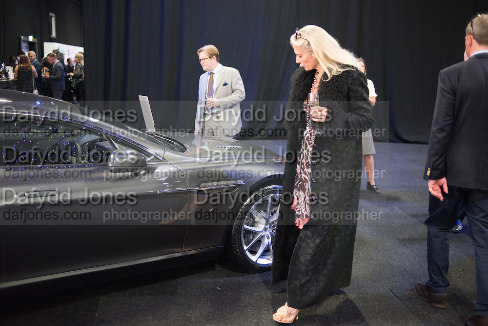 WILLIAM BUCKLEY; SARAH JANE FAIREY, Preview for The London Motor Show, Battersea Evolution. London. 5 May 2016