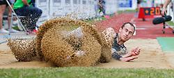 31.05.2014, Moeslestadion, Goetzis, AUT, 40. Hypo Meeting Goetzis 2014, Zehnkampf der Herren, Weitsprung, im Bild Dominik Distelberger (AUT) // Dominik Distelberger of Austria during the 40. Hypo Meeting Goetzis 2014, Men' s decathlon, Long jump at the Moeslestadion, Goetzis, Austria on 2014/05/31. EXPA Pictures © 2014, PhotoCredit: EXPA/ Peter Rinderer