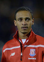 Stoke City's Peter Odemwingie during the Capital One Cup, third round match at Craven Cottage, London.