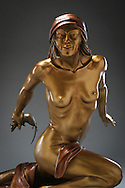 Bronze Sculpture by Richard Moore III