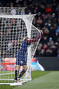 Angel Di Maria (psg) in the goal area during the French Cup, quarter final football match between Paris Saint-Germain and Olympique de Marseille on February 28, 2018 at Parc des Princes Stadium in Paris, France - Photo Stephane Allaman / ProSportsImages / DPPI