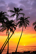 Sunset, Hawaii, Hawaii, USA<br />