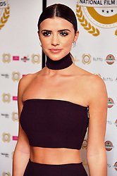 © Licensed to London News Pictures. 31/03/2016. LUCY MECKLENBURGH attends the 2nd NATIONAL FILM AWARDS held at Porchester Hall. London, UK. Photo credit: Ray Tang/LNP