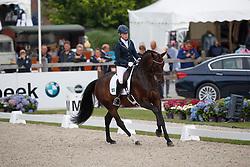 Österholm Yvonne, FIN, Dorina<br /> Longines FEI/WBFSH World Breeding Dressage Championships for Young Horses - Ermelo 2017<br /> © Hippo Foto - Dirk Caremans<br /> 05/08/2017