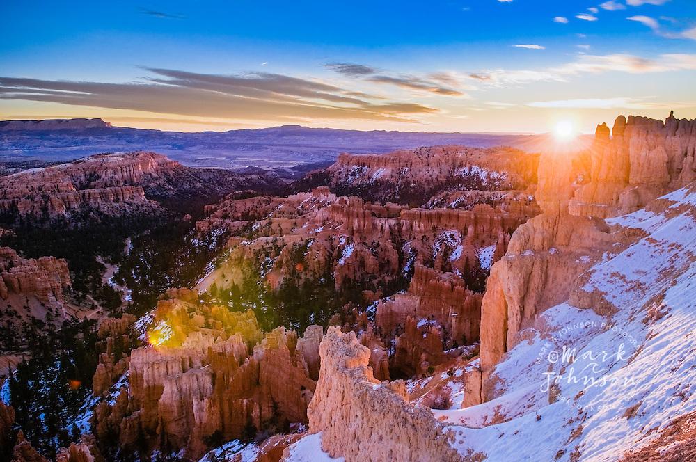 Bryce Canyon National Park, Utah, USA --- Sunrise at Bryce Canyon