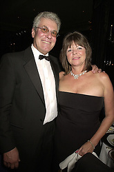 MR & MRS RICHARD BIFFA he is the waste disposal multi millionaire,  at a ball in London on 21st September 2000.OHF 32
