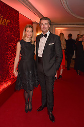 Lauren Feniou and Carine Feniou at The Cartier Racing Awards 2018 held at The Dorchester, Park Lane, England. 13 November 2018. <br /> <br /> ***For fees please contact us prior to publication***