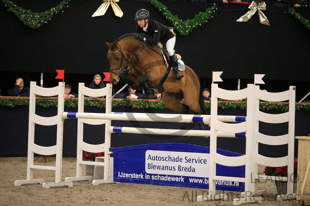 James Billington - Baltic VDL<br /> KNHS/KWPN GMB Hengstencompetitie Roosendaal 2012<br /> © DigiShots