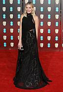 Margot Robbie, Ronan & Celebs- BAFTA2018