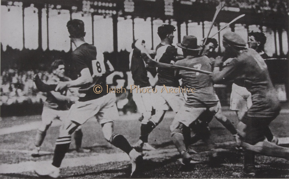Tipperary in action in the Polo Grounds New York on their 1926 tour.<br />