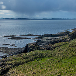 Ilha de Mull (paisagem) fotografado na Escócia, na Europa. Registro feito em 2019.<br /> ⠀<br /> ⠀<br /> <br /> <br /> <br /> <br /> <br /> <br /> ENGLISH: Isle of Mull photographed in Scotland, in Europe. Picture made in 2019.